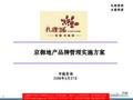 北京京御地产孔雀城项目品牌管理实施方案_139P_设计阶段_组织架构_责任划分