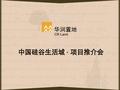 华润置地_中国硅谷生活城项目推介会_161P_橡树湾_总体规划_LOGO_VI