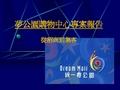 台湾夢公園購物中心项目專案報告_99P_發展趨勢_特色打造_集客優勢