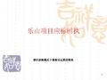 四川成都乐山某项目提案报告_51p_业态规划_营销推广_经营管理