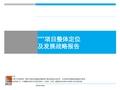 四川成都温江某房地产项目整体定位及发展战略报告_99P_市场调研_花园洋房