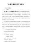某市<font color=red>金辉</font>广场项目可行性报告_36页_可行性分析