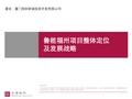 世联_福建福州厦门翔安<font color=red>鲁能</font>长乐项目整体定位及发展战略报告_135P_项目分析_功能布局_别墅