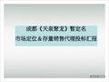 <font color=red>中粮</font>_四川成都龙泉项目市场定位存量销售代理投标报告_83P_工程投标